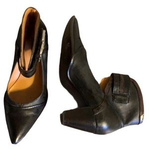 France Mode Leather Mary Janes - Women's Size 36